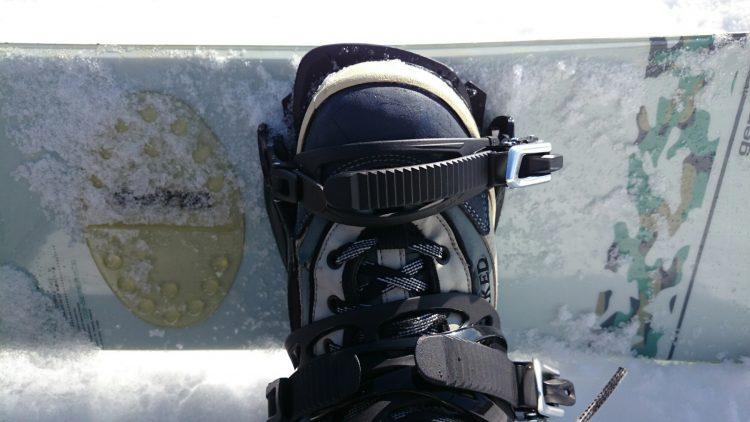 シューグーで靴底を貼り直したブーツと新調したビンディング