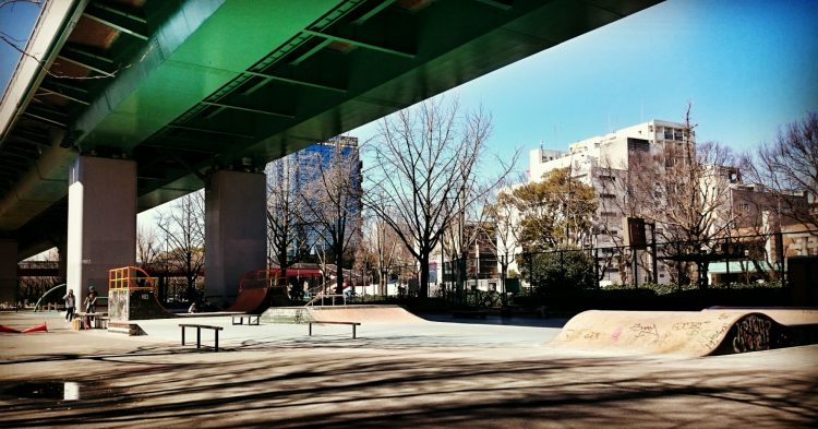 3月の若宮スケートパーク