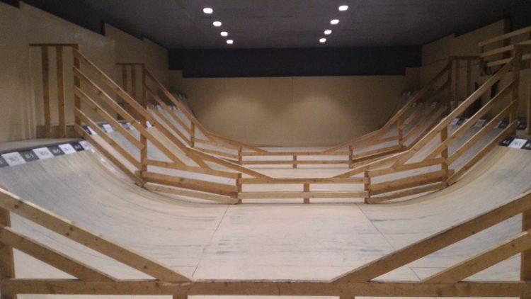 スケートパークHi-5改修完了