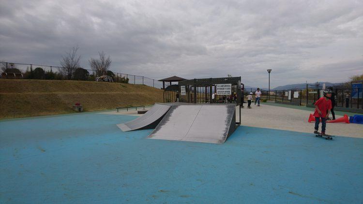 京田辺スケートパークのヒップス